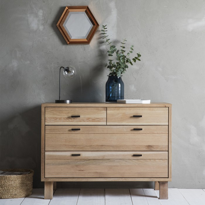 Kielder Chest 2 + 2 Drawers