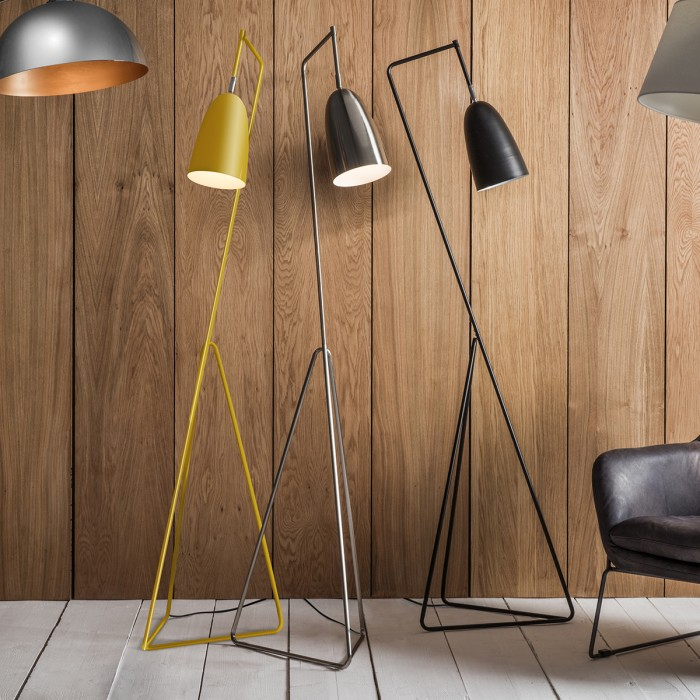 Vallen Floor Lamp Yellow