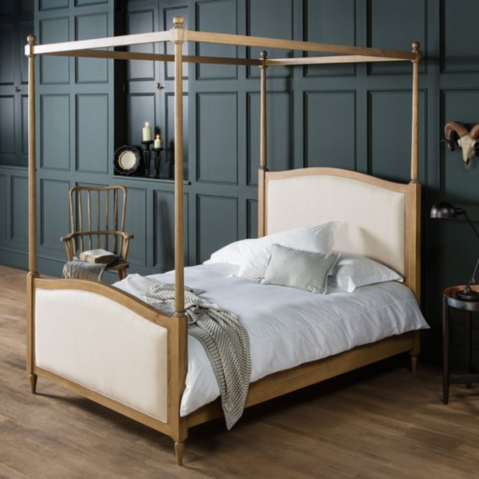 Hartwick 5ft Four Poster Bed Weathered