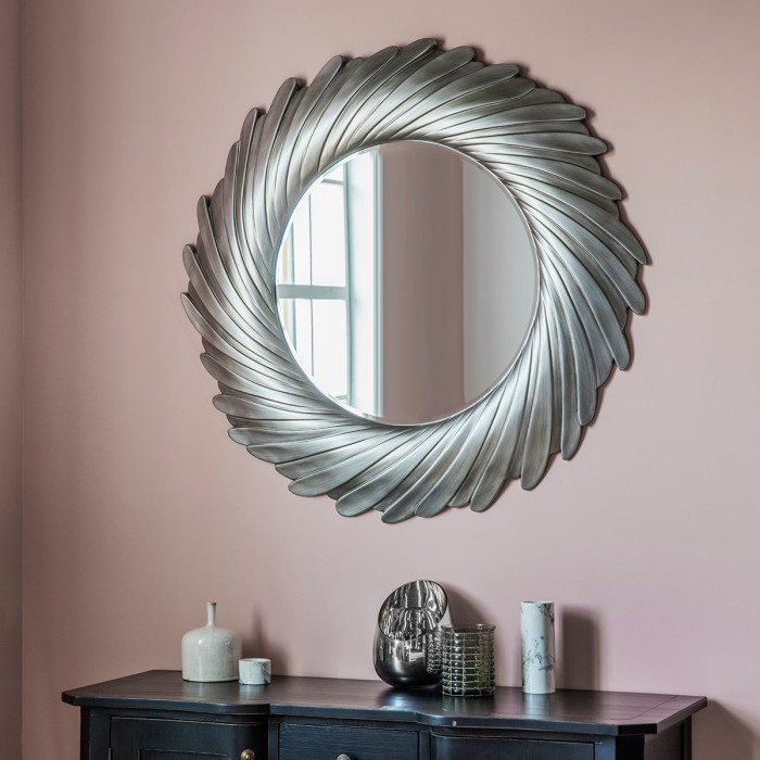 Lowry Mirror Silver