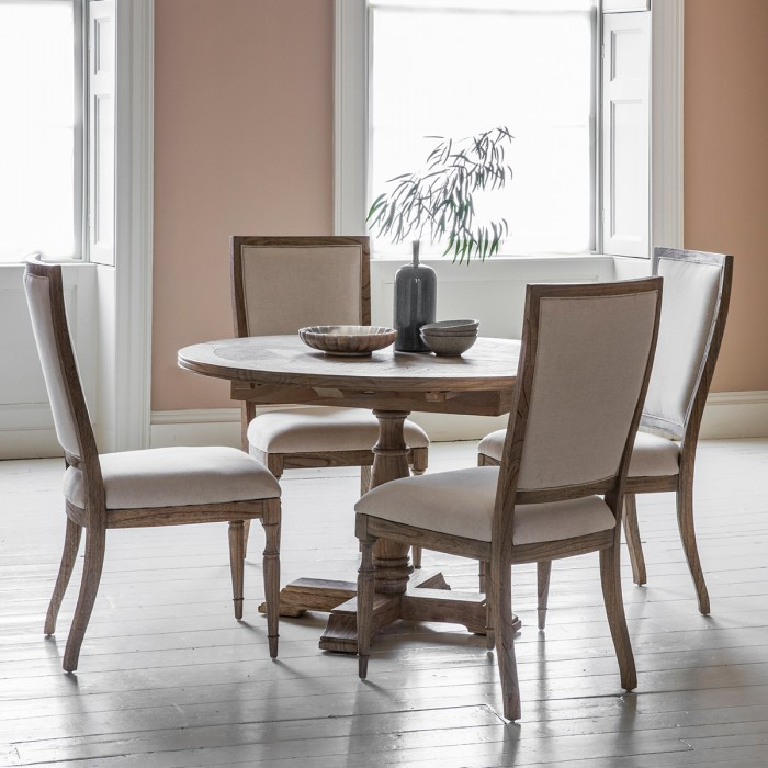 Mustique Round Ext Dining Table