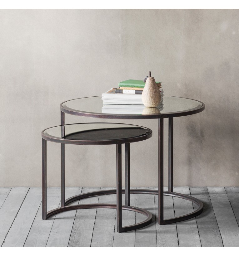 Argyle coffee table nest of 2 gallery direct argyle coffee table nest of 2 watchthetrailerfo
