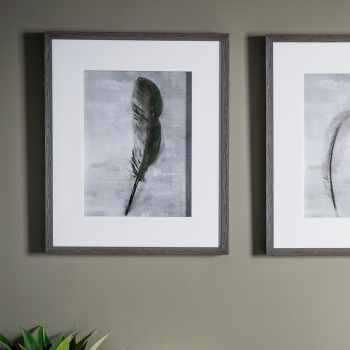 Feather I Framed Art