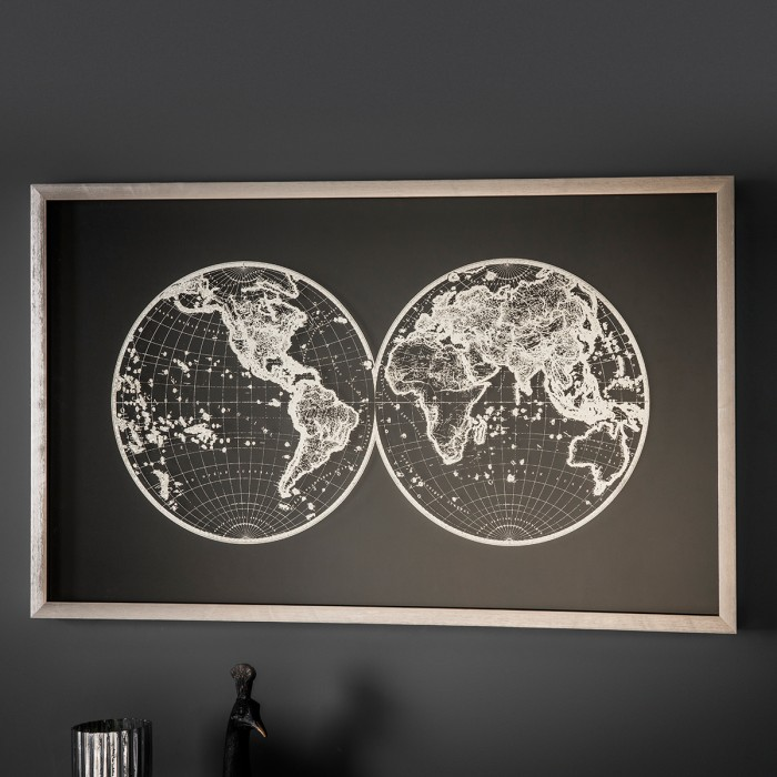 Atlas Framed Art
