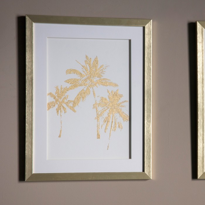 Date Palms Framed Art