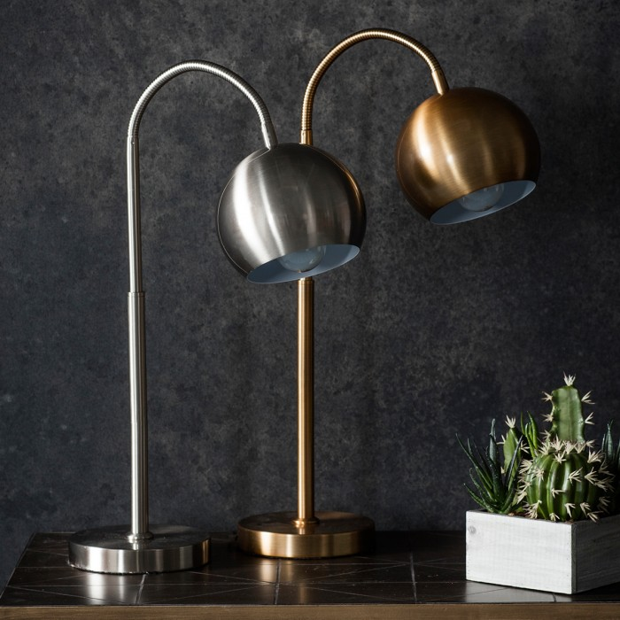 Dallas Table Lamp Brushed Nickel