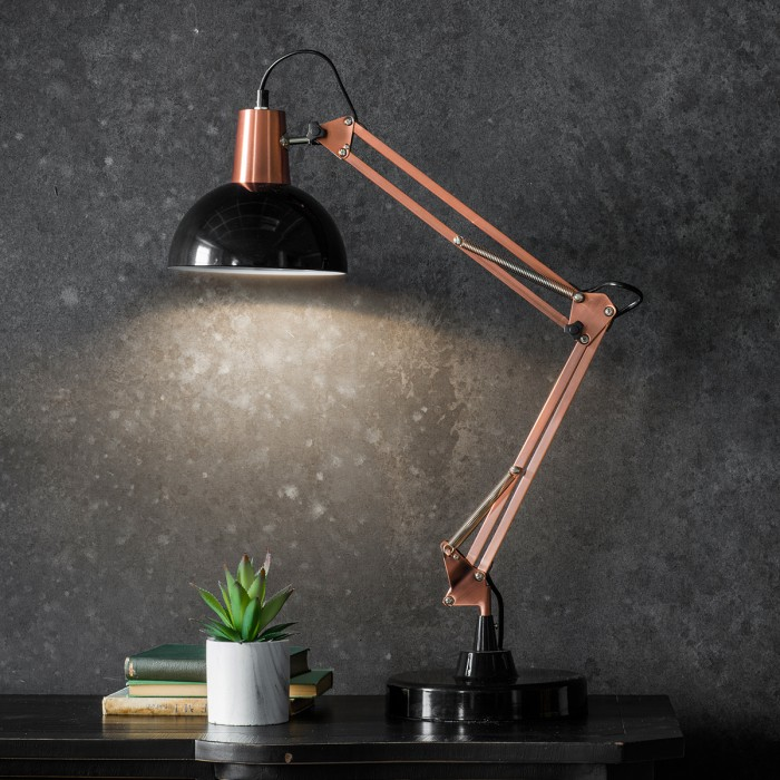 Watson Table Lamp Bronze and Black