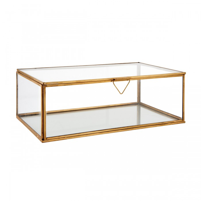 Portis Large Box Accessory Clear Glass