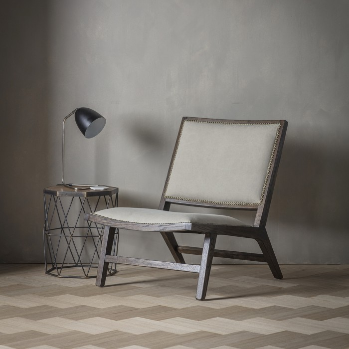 Carnaby Stone Washed Fabric Chair