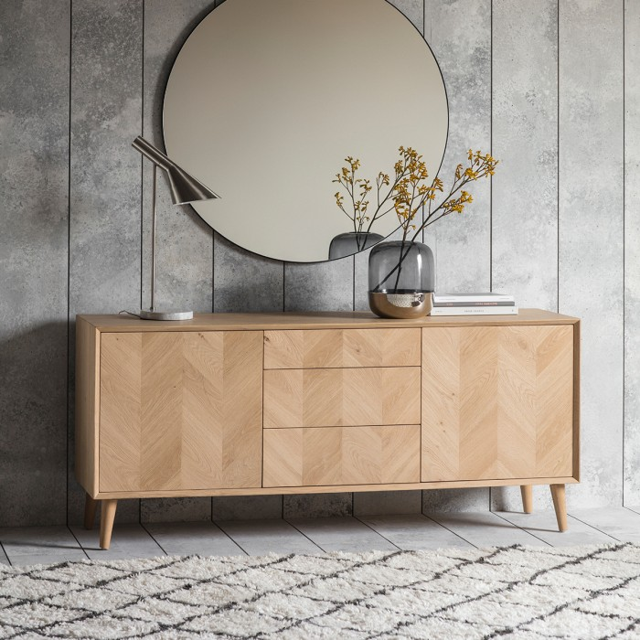 Milano 2 Door / 3 Drawer Sideboard