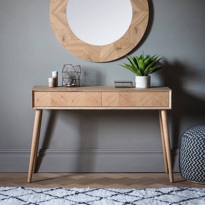 Milano 2 Drawer Console Table