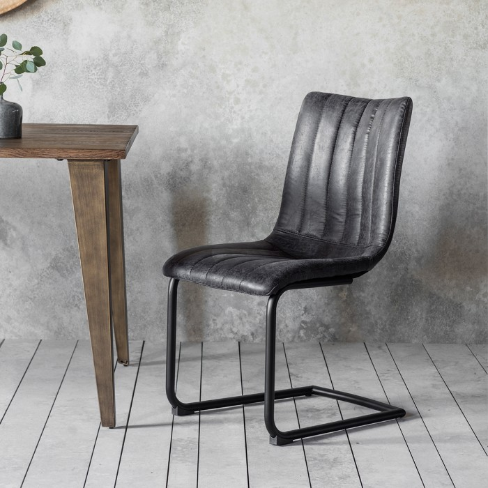 Edington Grey Chair (2pk)