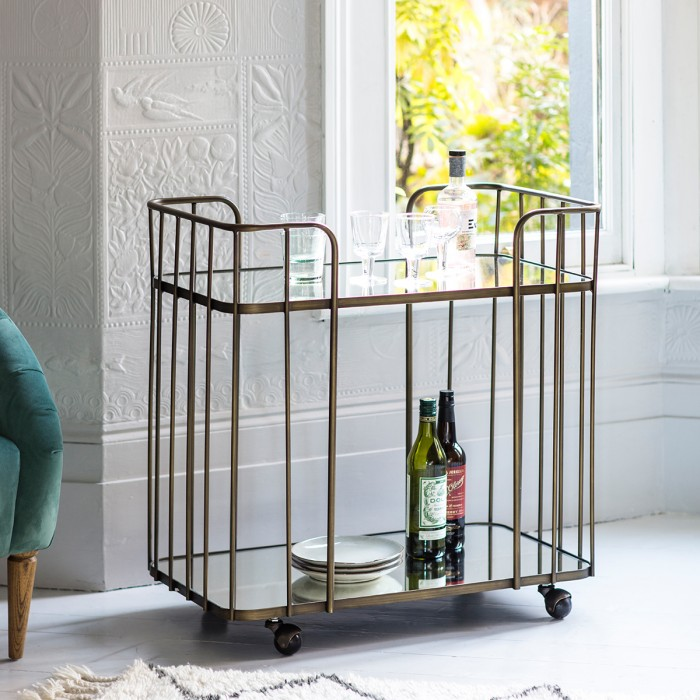 Verna Drinks Trolley Bronze