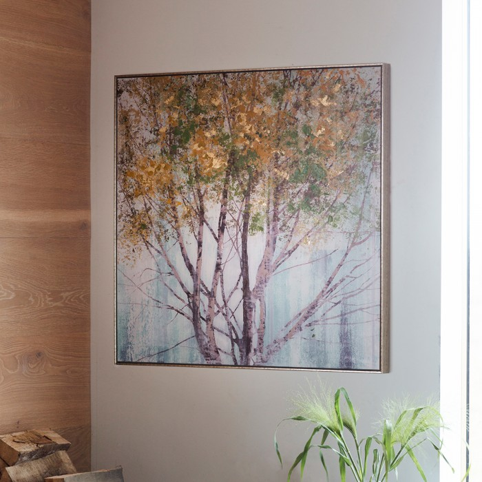 Golden Forest Framed Art