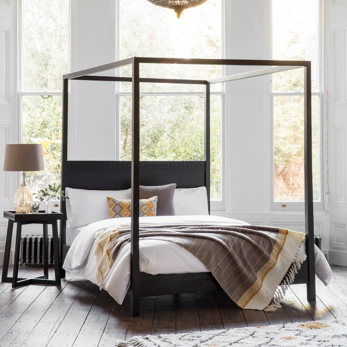 Boho Boutique 4 Poster Queen Bed
