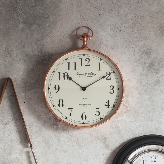 Armstrong Wall Clock Copper