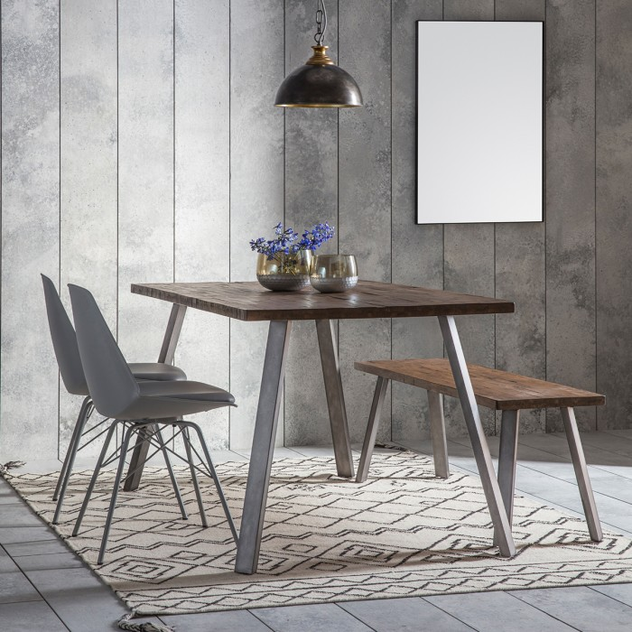 Camden Rect Dining Table Rustic