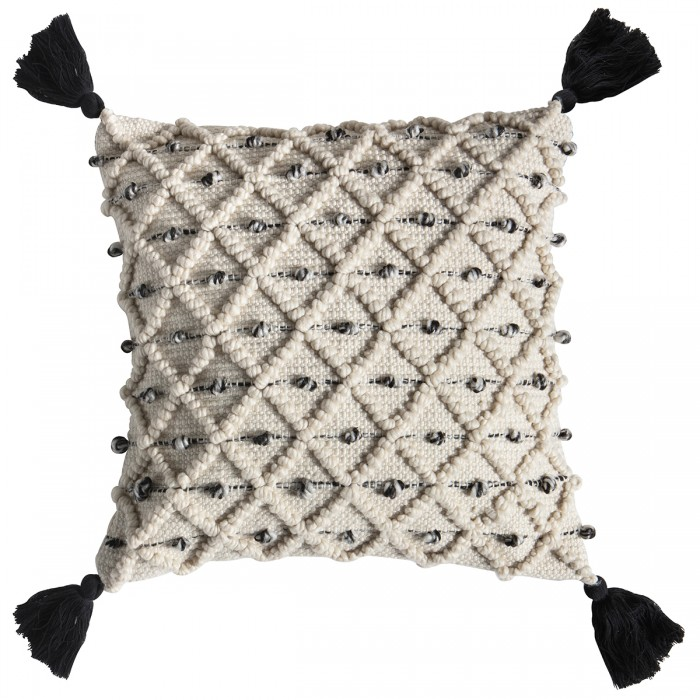 Colca Cushion Natural/Black