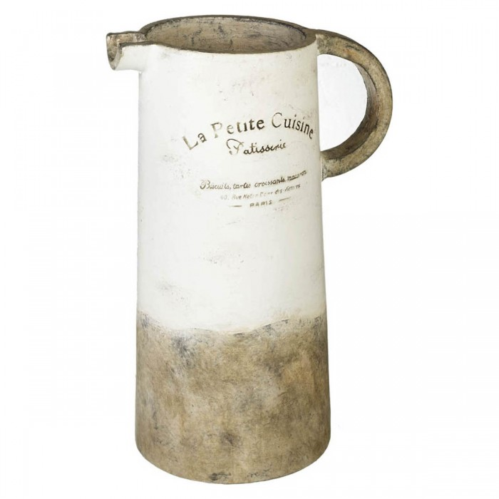 Pitcher Cuisine Distressed White