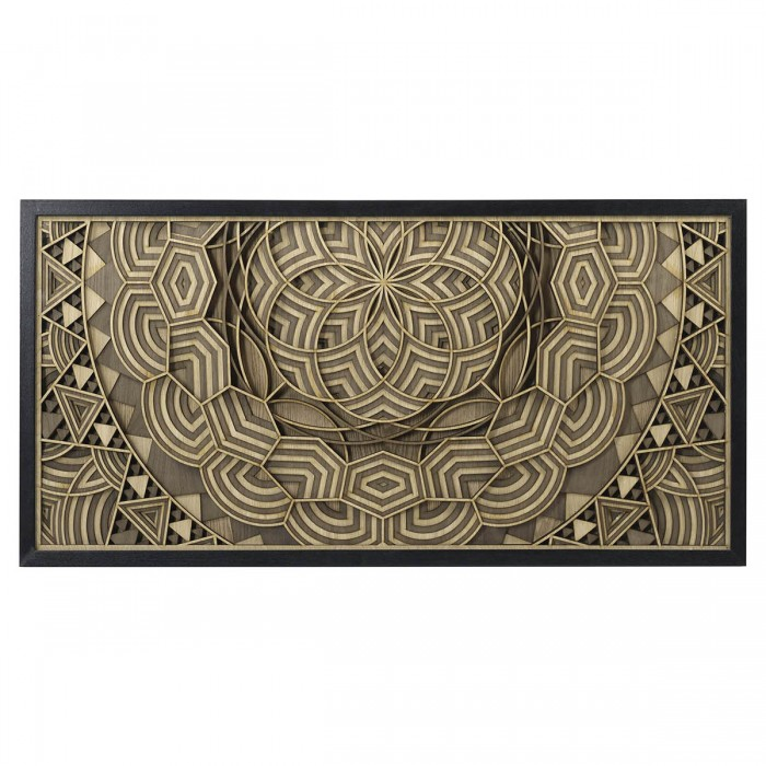 Catteau Wall Art Black & Natural