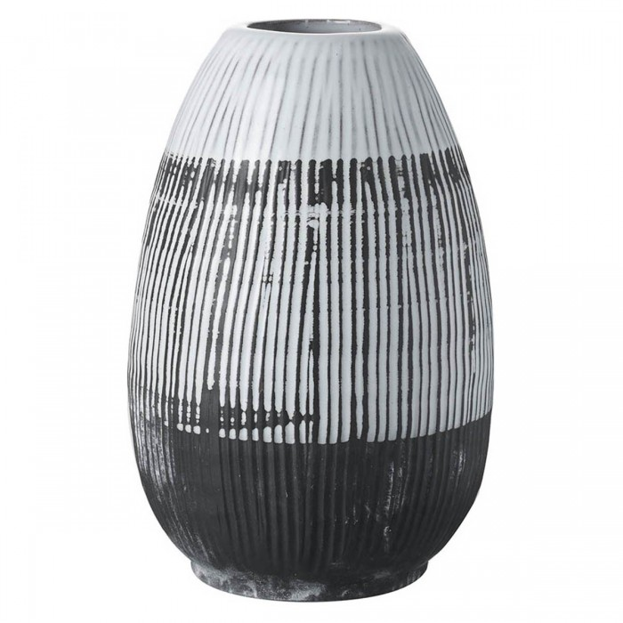 Ansel Vase Black & White
