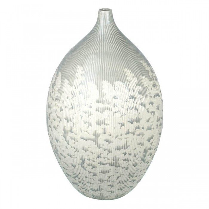 Cascade Vase Light Grey