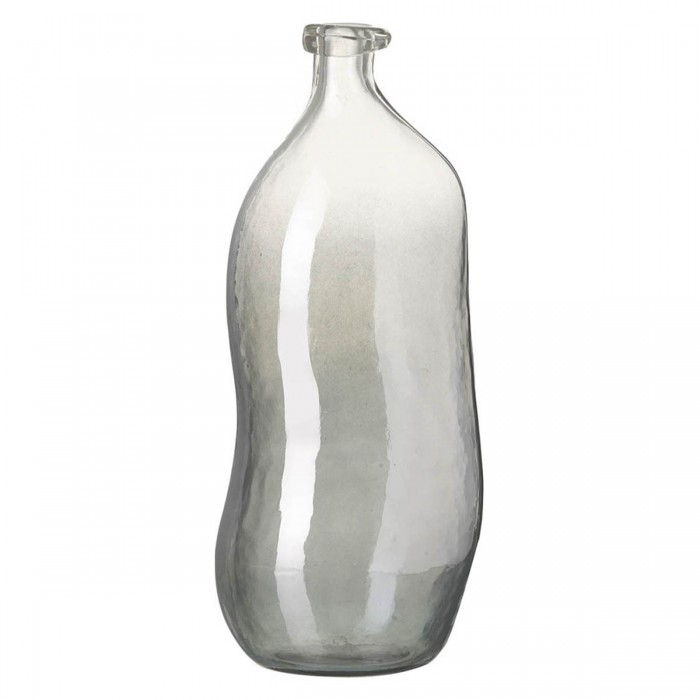 Dali Vase Grey Lustre Glass (2pk)
