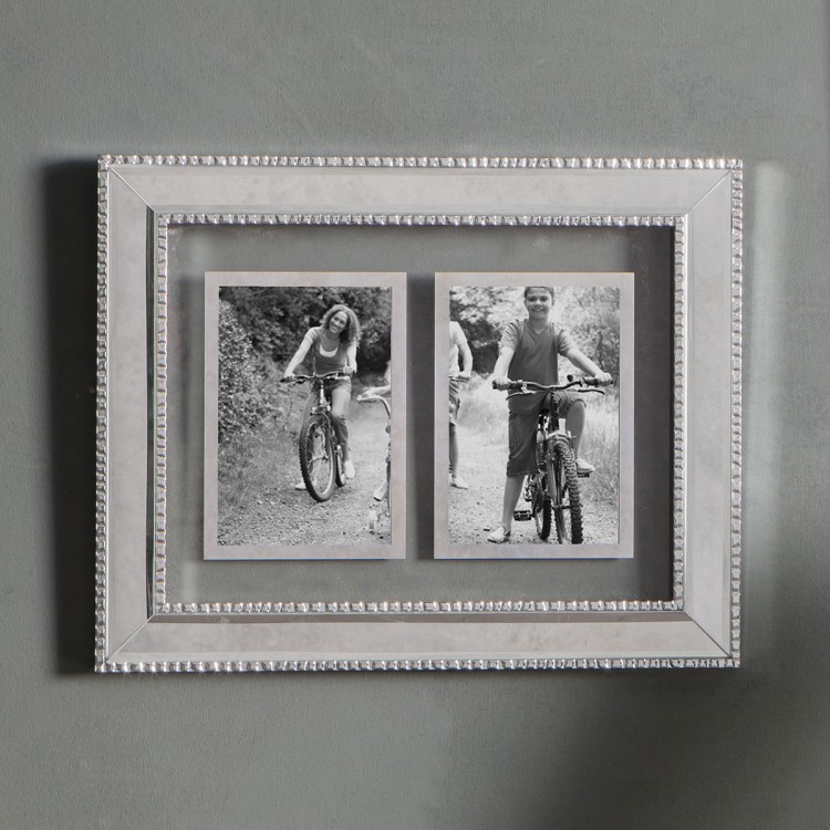 Moulin 2 Aperture Collage Photo Frame