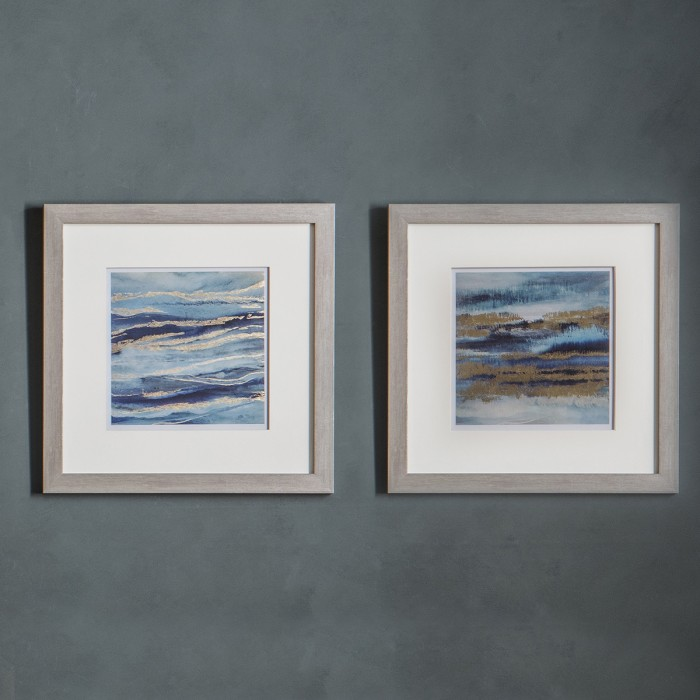 Aquarius Framed Art (Set of 2)