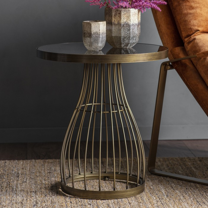 Southgate Side Table Bronze