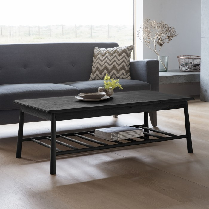 Wycombe Rectangle Coffee Table Black