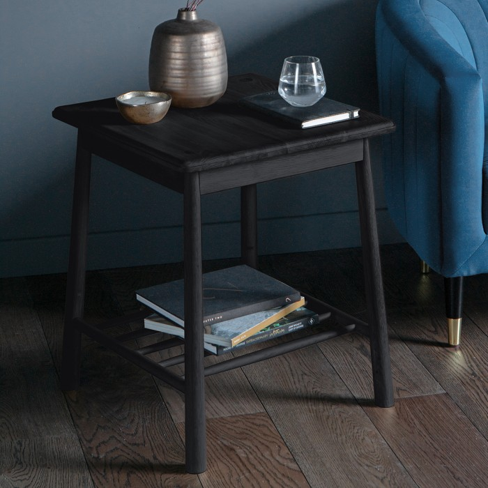 Wycombe Side Table Black
