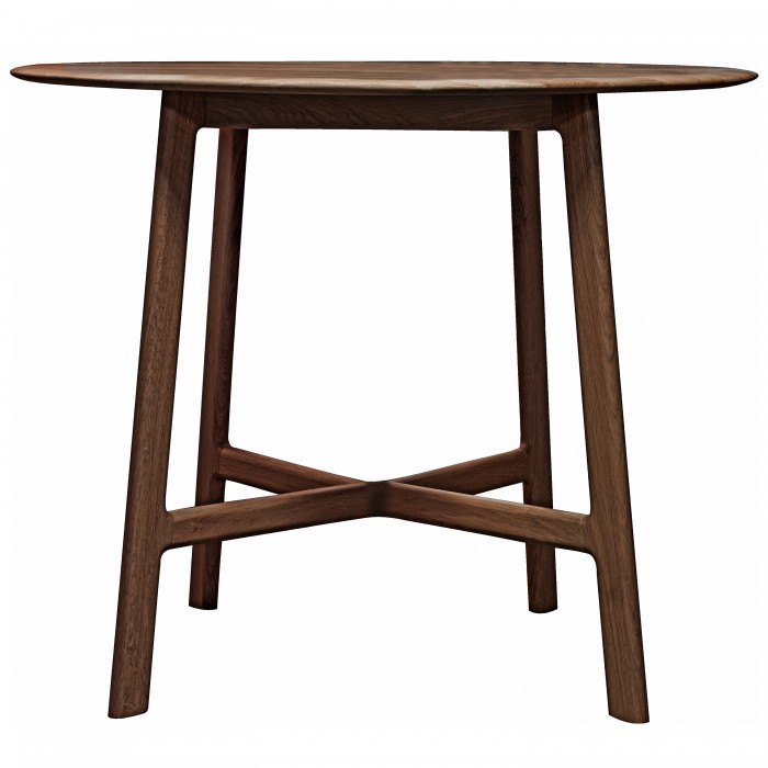 Madrid Round Dining Table Walnut