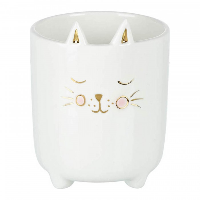 Cat Pot White
