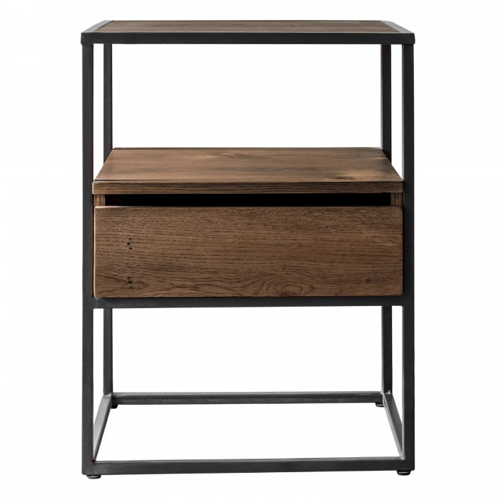 Balham Smoked Side Table