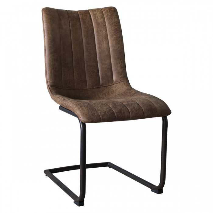 Edington Brown Chair (Individual)