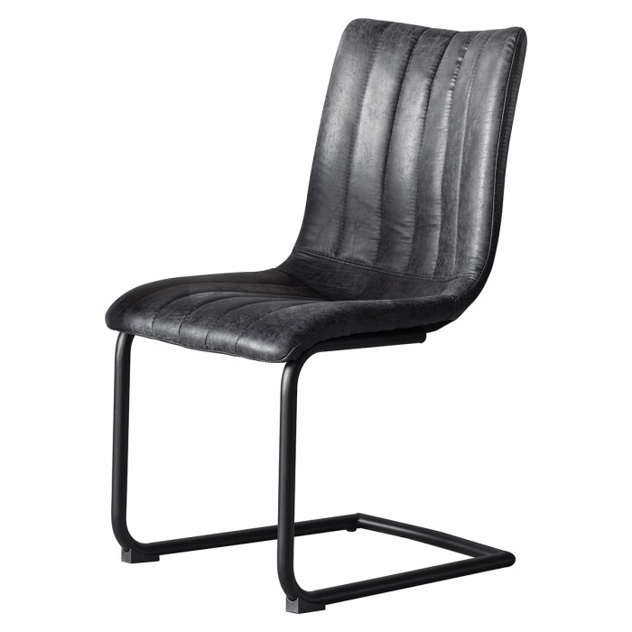 Edington Grey Chair (Individual)