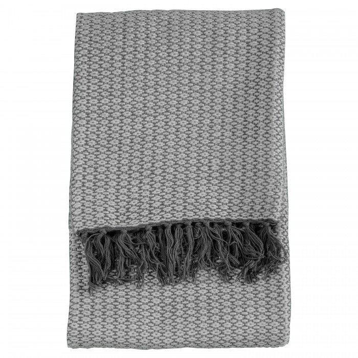 Ballia Metallic Throw Grey
