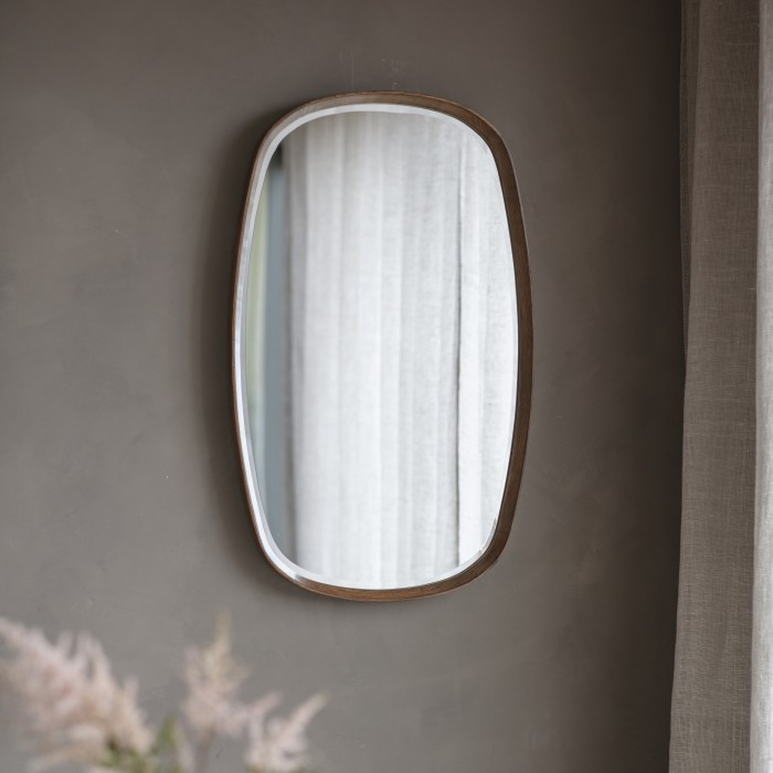 Keaton Mirror Walnut