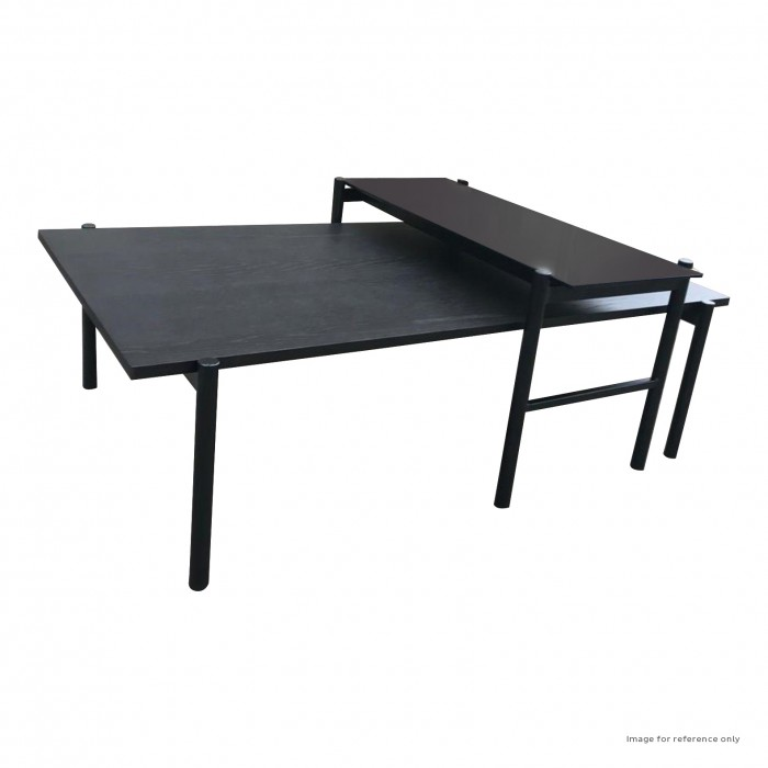 Forden Coffee Nest Table Grey