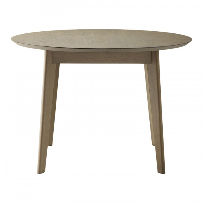 Forden Round Dining Table Grey