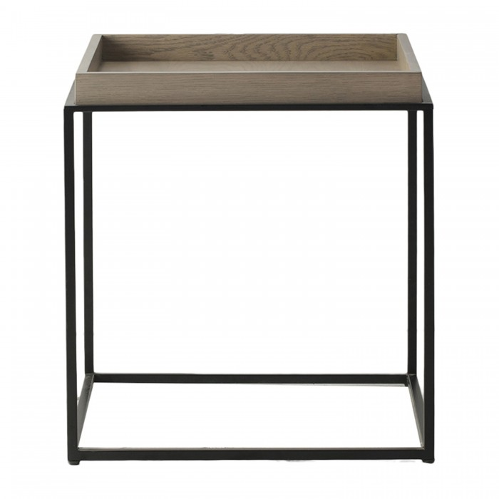 Forden Tray Side Table Grey