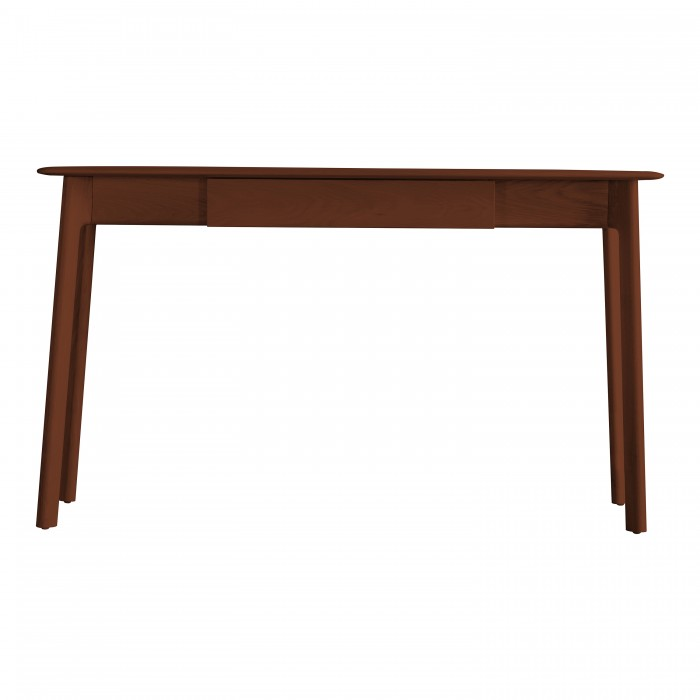 Madrid 1 Drawer Desk Walnut