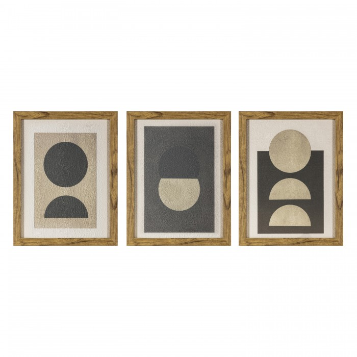 Eclipse Framed Print Set of 3