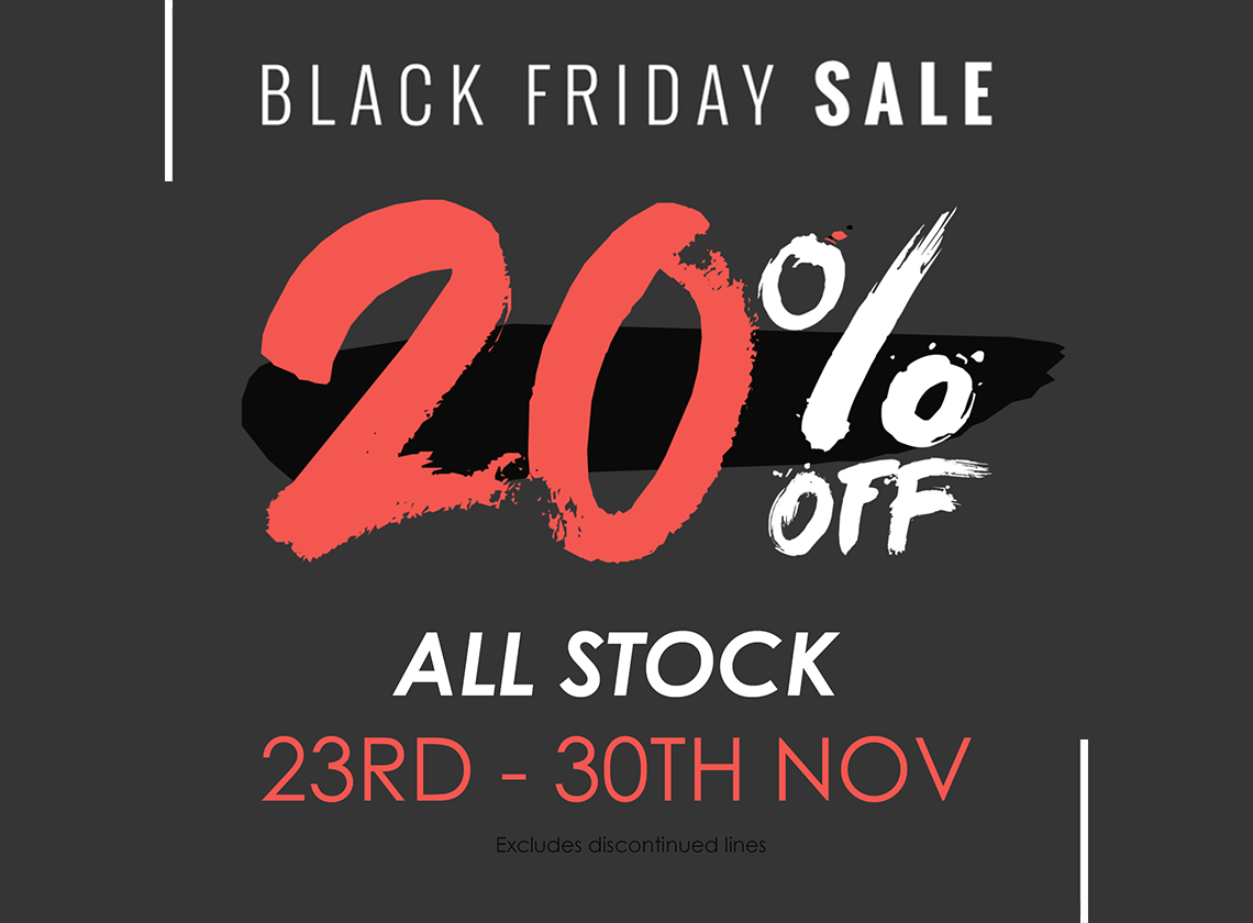 Black Friday 20% Off Store Wide