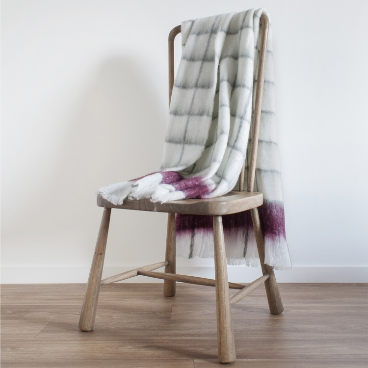 Buttermere Mohair Feel Throw