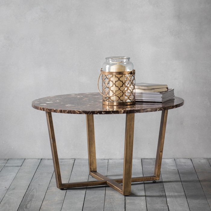 Emperor Round Coffee Table Marble