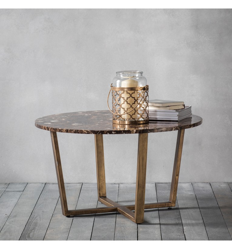 Marble Coffee Table Australia: Emperor Round Coffee Table Marble