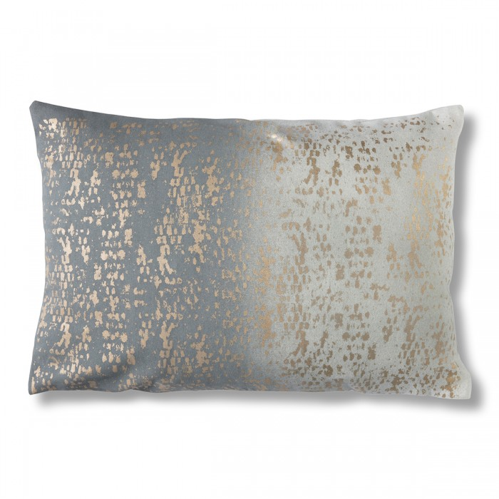 Mineral Texture Cushion Grey/Gold