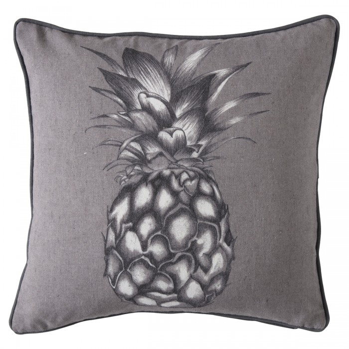 Monochrome Pineapple Cushion